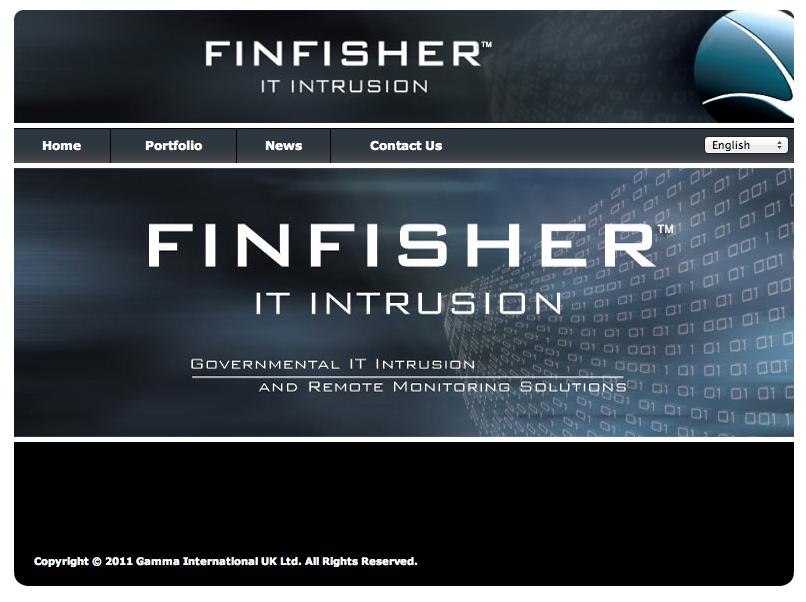 finfisher software