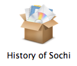History of Sochi icon